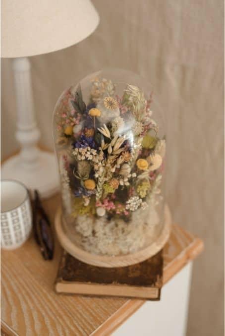 Urna flor preservada portada   Flores Atemp